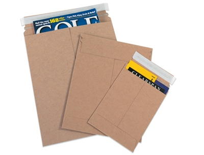 Kraft Self-Sealing Mailers
