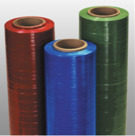 Color stretch film for packaging
