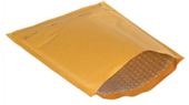 Kraft Heat-Seal Bubble Mailers
