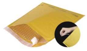 Kraft Self-Seal Bubble Mailers with Tear Strip