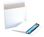 Gusseted White Envelope Mailer