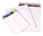 White Self-Sealing Chipboard Envelope